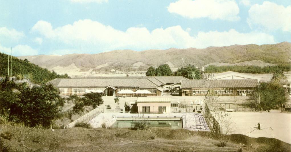 昭和45年の東海中学校